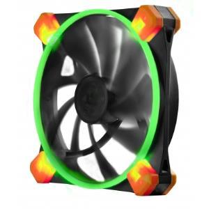 Truequiet 120 Ufo Case Fan - Green