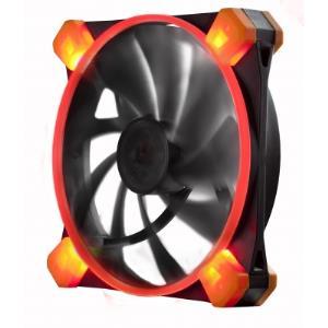 Truequiet 120 Ufo Case Fan - Red