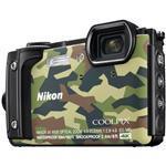 Digital Camera Coolpix W300 16 Mpix 5x Op 4x Digi Zoom 3.0in LCD Camouflage Waterproof 4k Ultra Hd