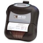 Rw420 - Mobile Lable Printer - 200dpi 104mm - 8MB Flash / Serial / Bluetooth 2.0 / Fanfold Media Sup