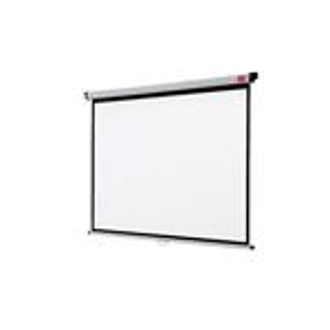 Wall Screen Nobo 175x132.5cm White
