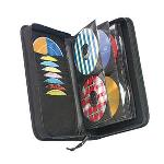 Cd Wallet Cdw64 Nylon Black Holds Up To 72cds