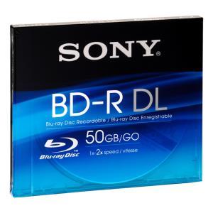 Blu-ray Media Recordable 50GB 1x-2x 1pk + VAIO Sticker