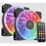 Case Fan Gxt 770 RGB Illuminated 2-pack