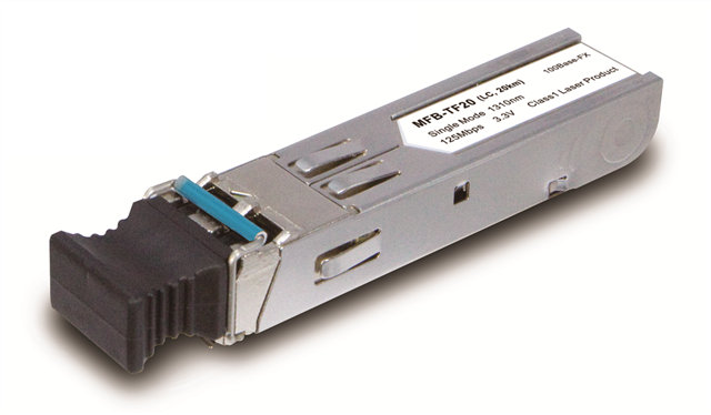 Single-mode 60km 100mbps Sfp Fiber Transceiver